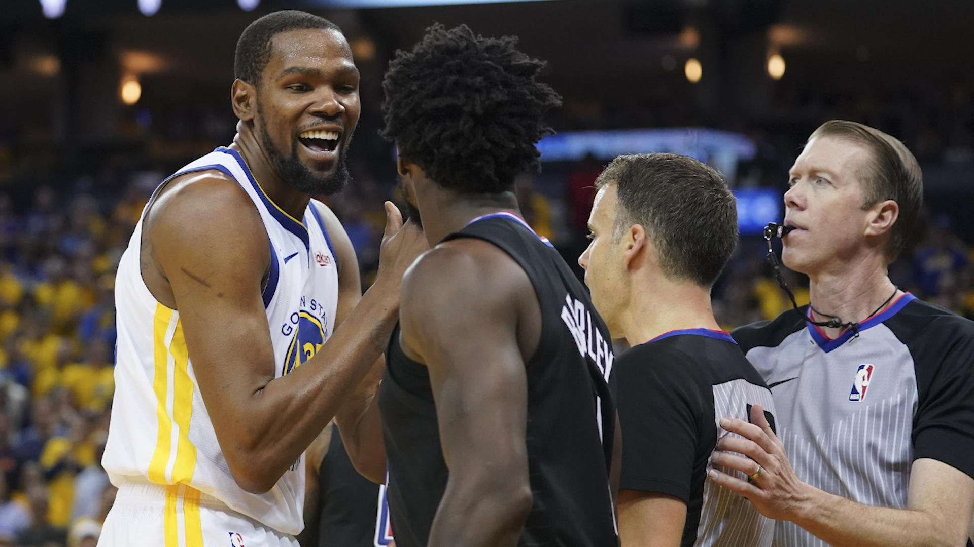 NBA Playoffs 2019: Warriors complained to league about Patrick Beverley's defense on Kevin Durant, per report