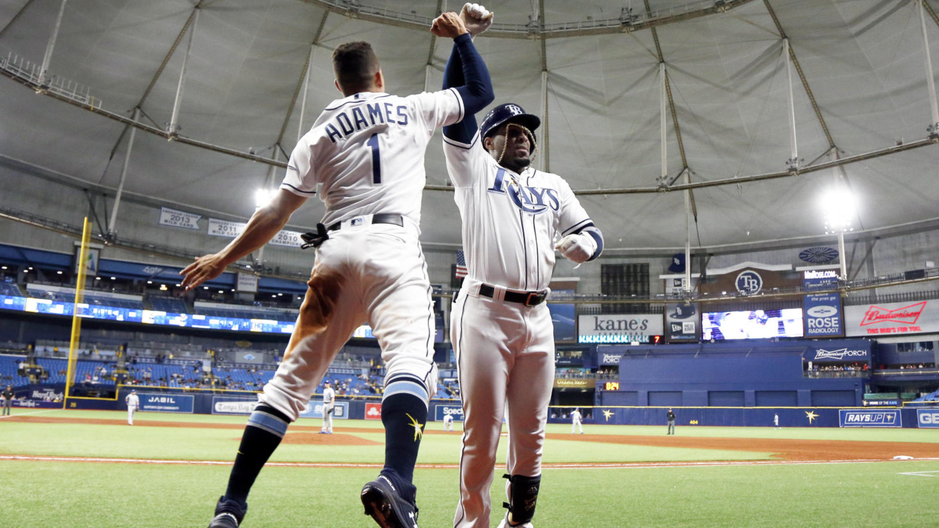 Rays lose another starter to the injured list as Joey Wendle suffers fractured wrist on HBP
