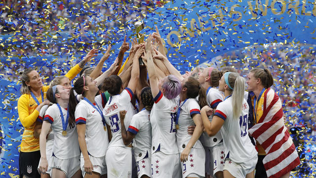 Soccer: Kanell & Bell: USWNT wins 2019 World Cup - Video - CBSSports com