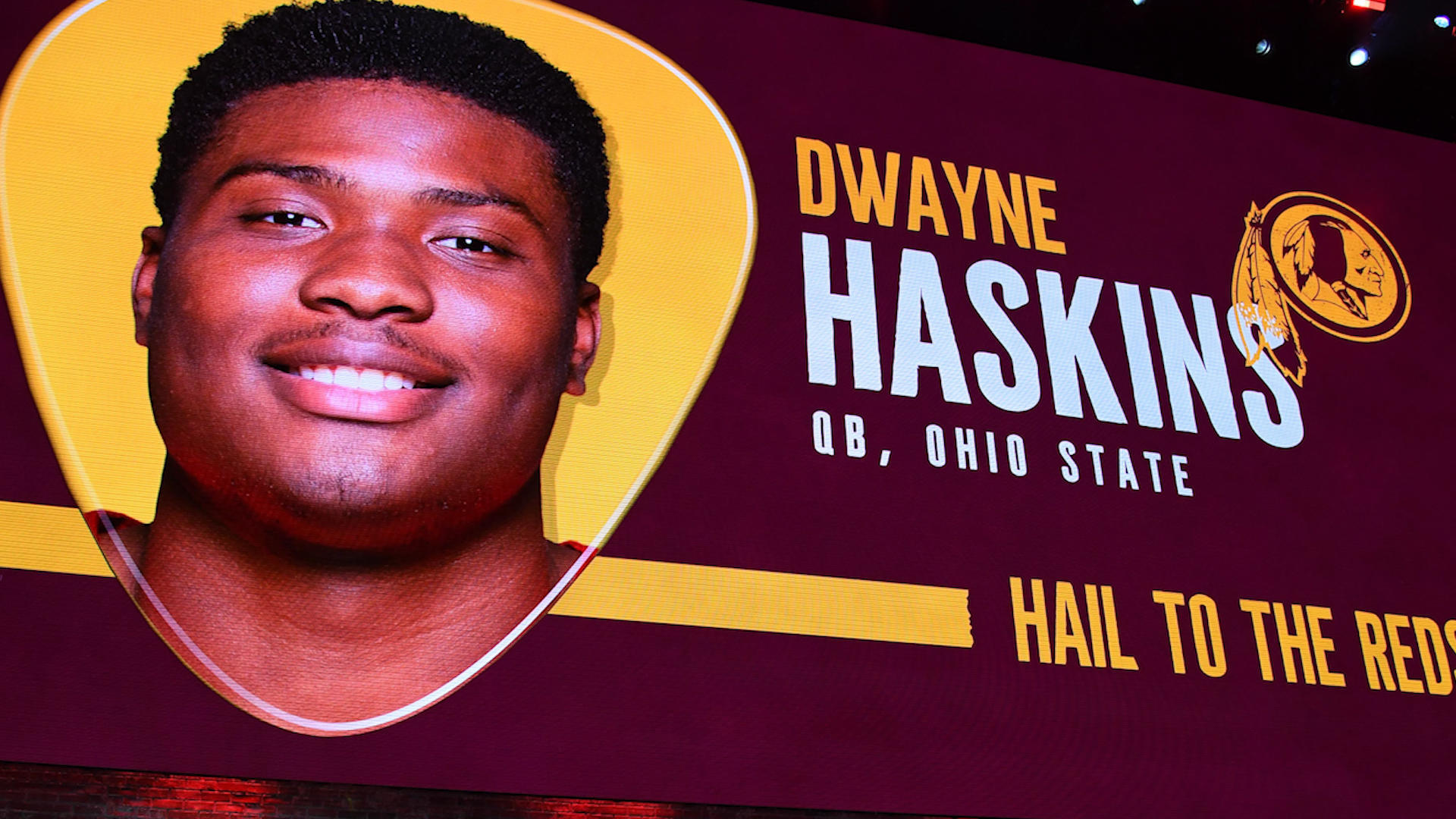 NFL Draft 2019: Dwayne Haskins says 'the league done messed up' after being the third quarterback taken