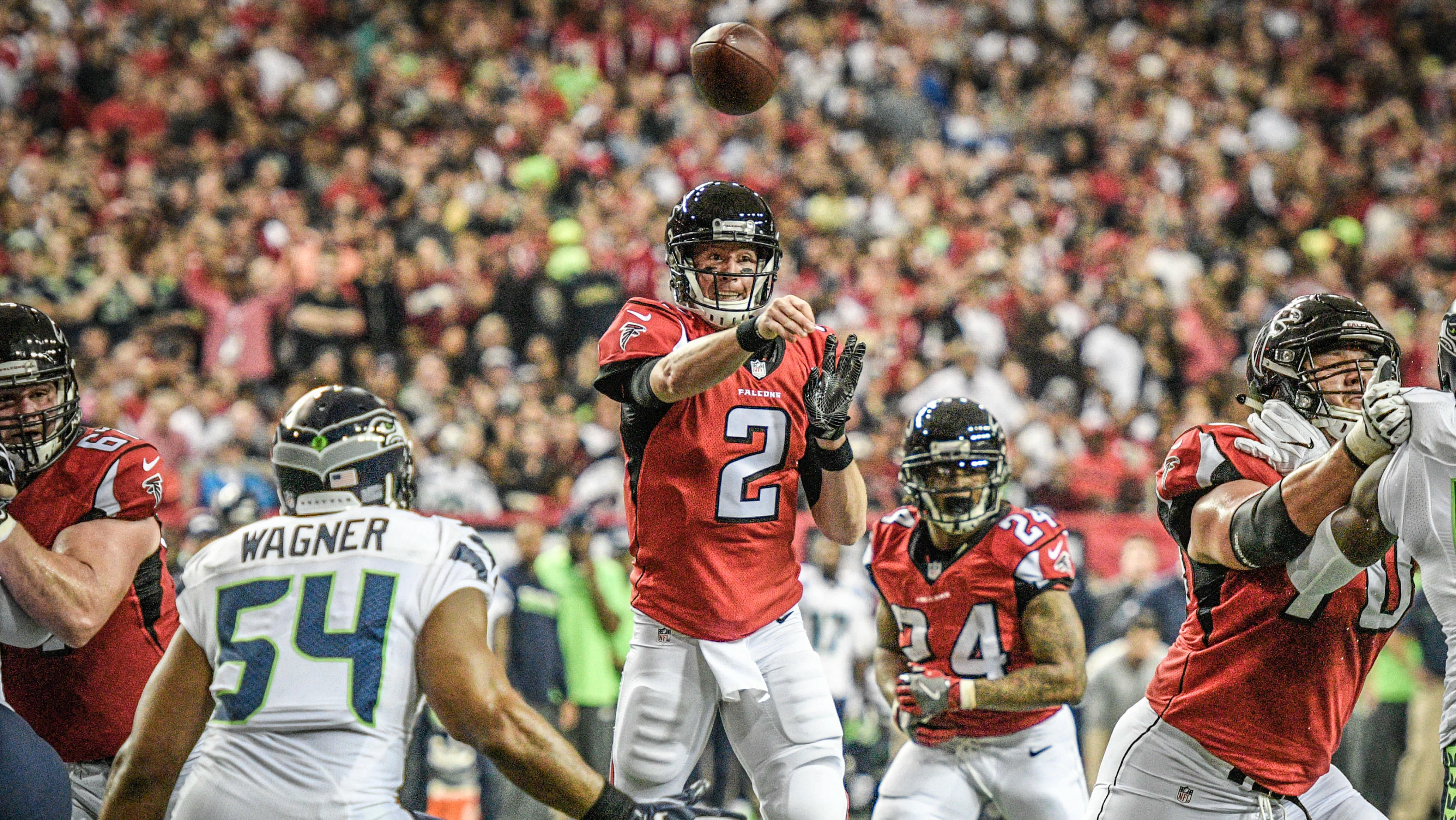 80ab9d35 NFL playoffs: Falcons trounce Seahawks to advance to NFC title game -  CBSSports.com