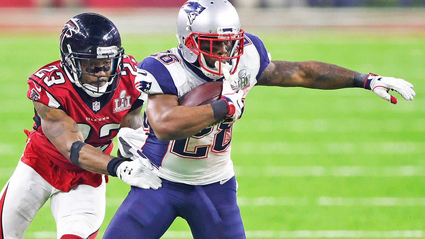 Patriots' Super Bowl hero James White on rematch: 'Nothing to do with this game'