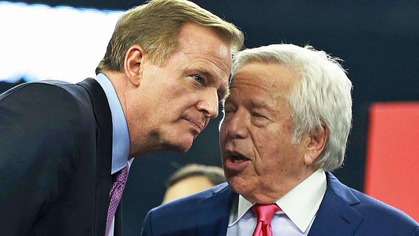 Patriots' Robert Kraft, close friend to Trump, condemns president's NFL comments