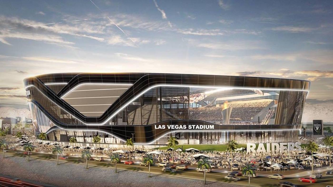 c4f58c69b82 LOOK  Here are splashy new renderings of the Raiders   1.9 billion stadium  in Vegas - CBSSports.com
