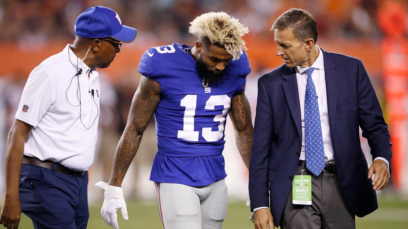 Odell Beckham reportedly considering $100 million insurance policy against injury