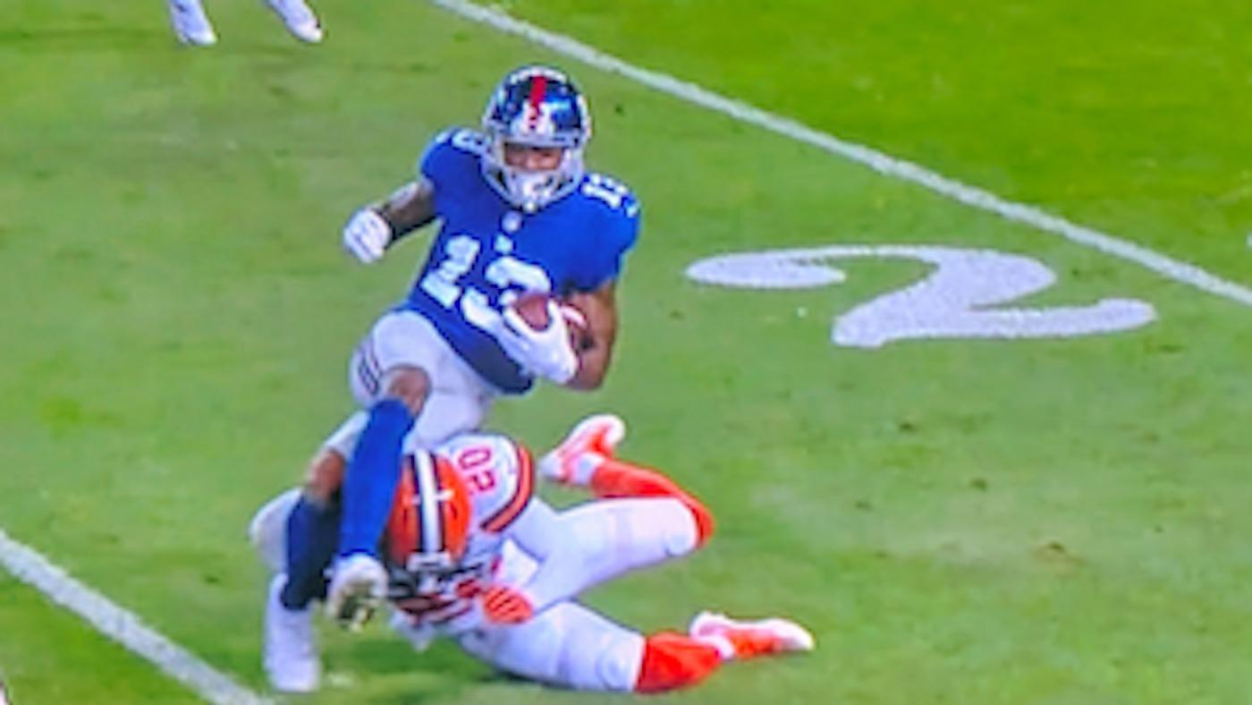 Odell Beckham on injury: 'I'm pretty concerned, but I think I'll be alright'