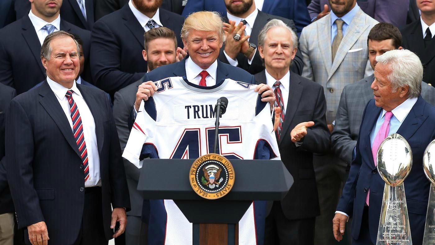 The New England Patriots sent a valuable Super Bowl gift to Donald Trump