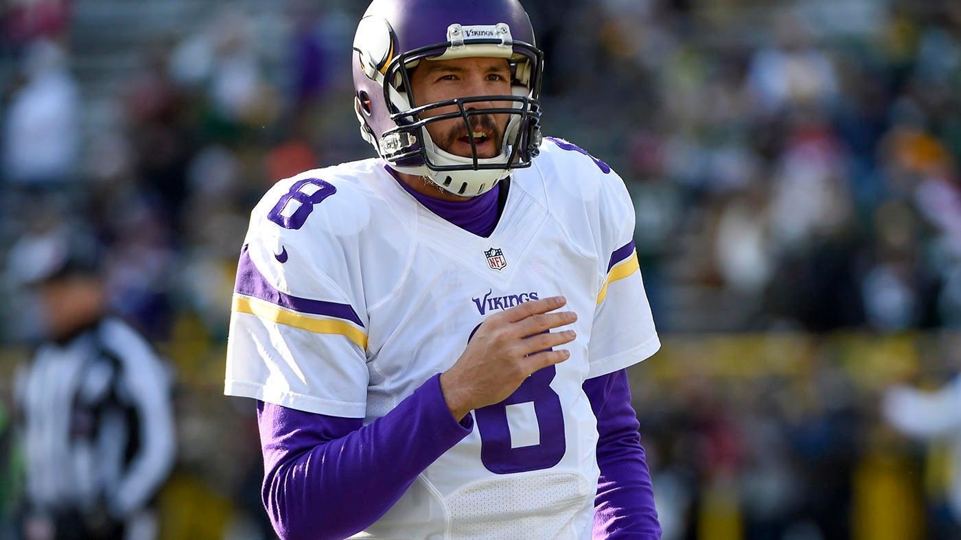 Vikings rule out Sam Bradford for Week 3, setting up Case Keenum to face Buccaneers