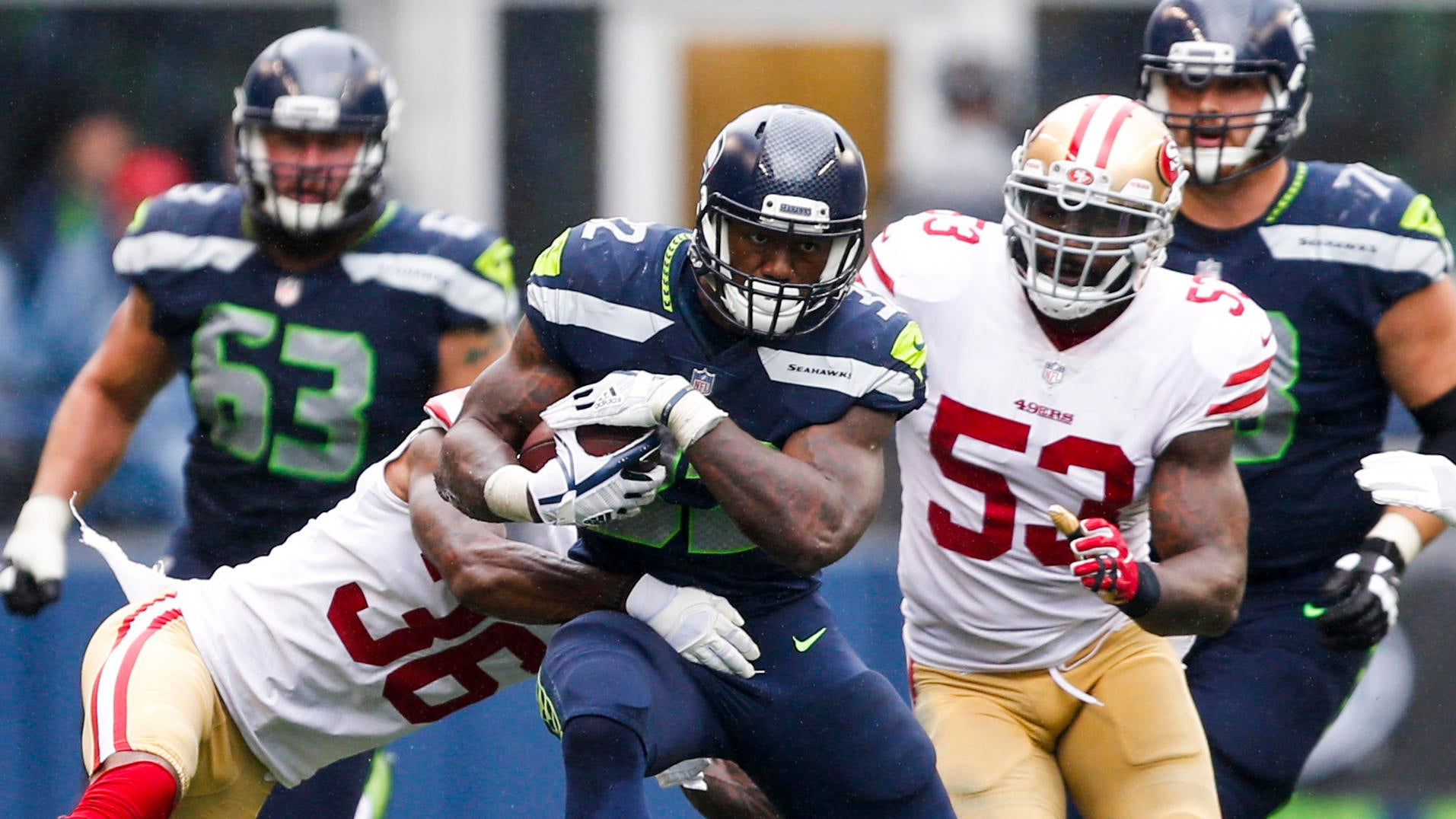 Early Week 2 Fantasy Football waiver wire: Chris Carson is the running back to add, but Chris Thompson and Samaje Perine worth a look with Rob Kelley hurt