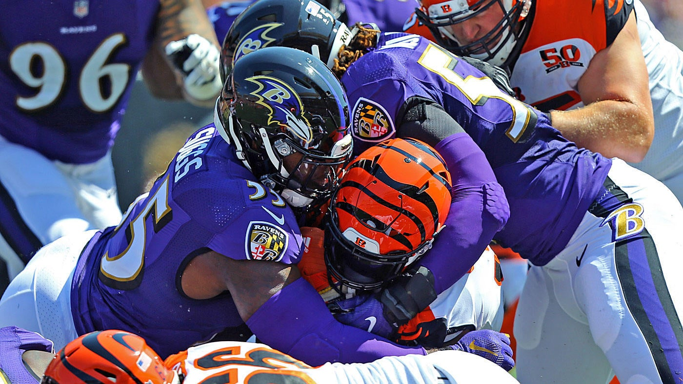 Best Ravens defense ever? After two smothering wins, it sure looks like it
