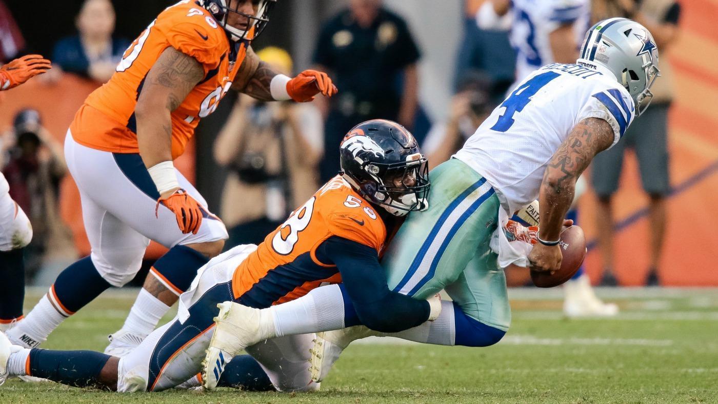 Cowboys coach Jason Garrett says Dak Prescott is dealing with an ankle injury