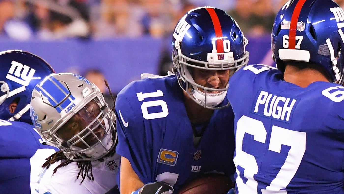 Lions vs. Giants score, highlights, things to know: Eli's offensive line is a disaster