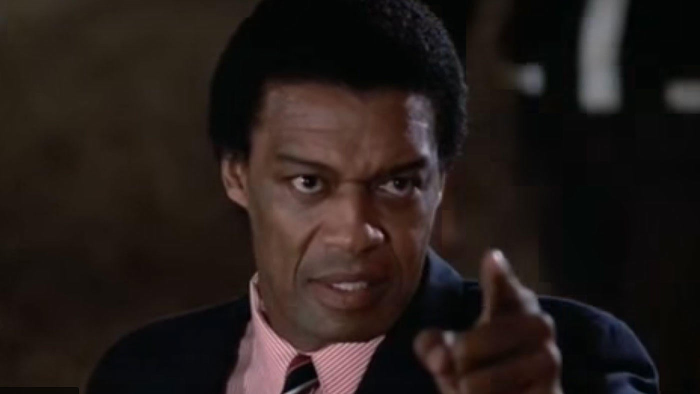 Bernie Casey, who helped save the nerds from the jocks, was actually an NFL star