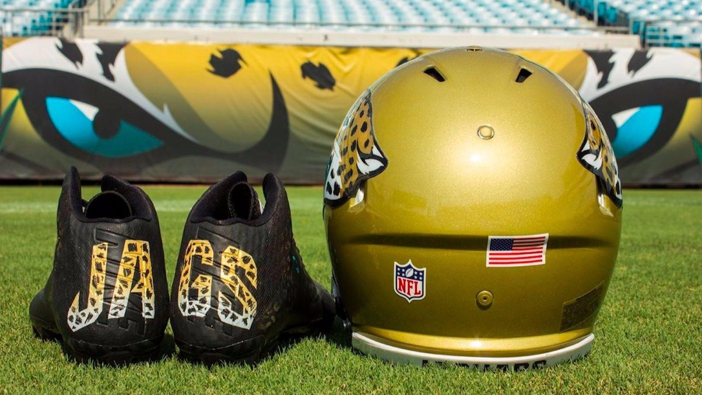 LOOK: Jaguars unveil awesome cleats for London game against Ravens