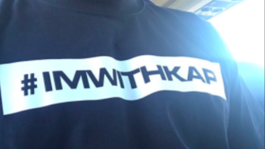LOOK: Several Dolphins players warm up wearing 'I'm with Kap' shirts