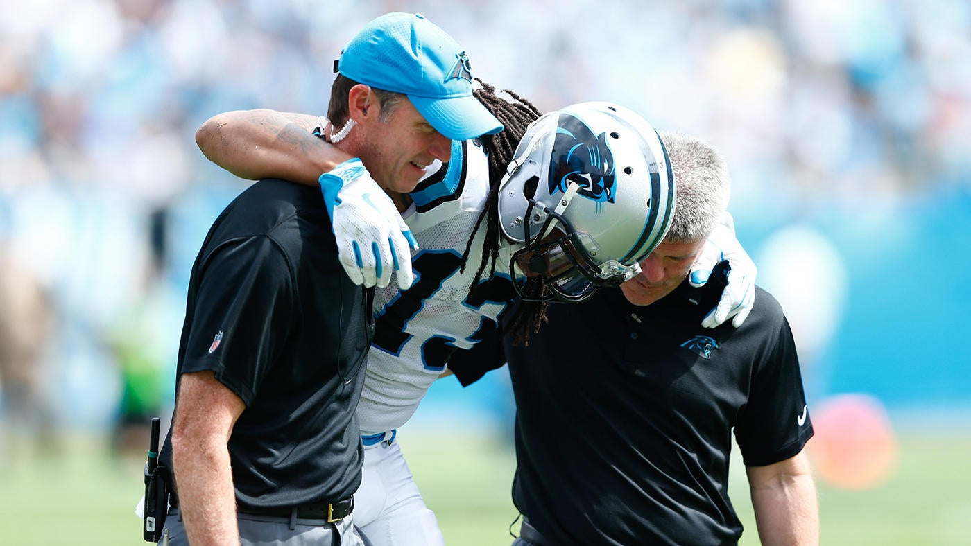 Fantasy Football Instant Reaction: Kelvin Benjamin's Week 3 knee injury leaves Cam Newton, Panthers even more shallow