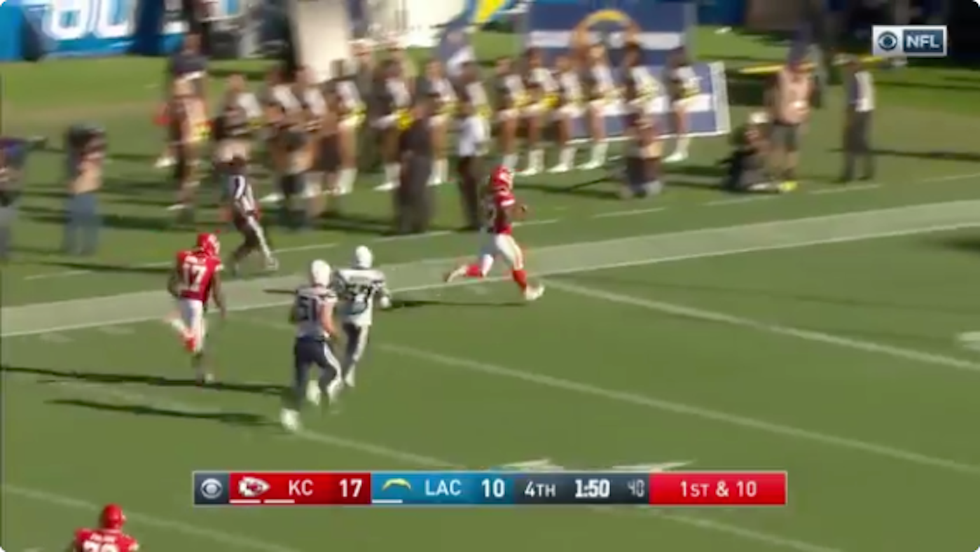 WATCH: Chiefs' Kareem Hunt does it again, rips off game-clinching 69-yard TD run