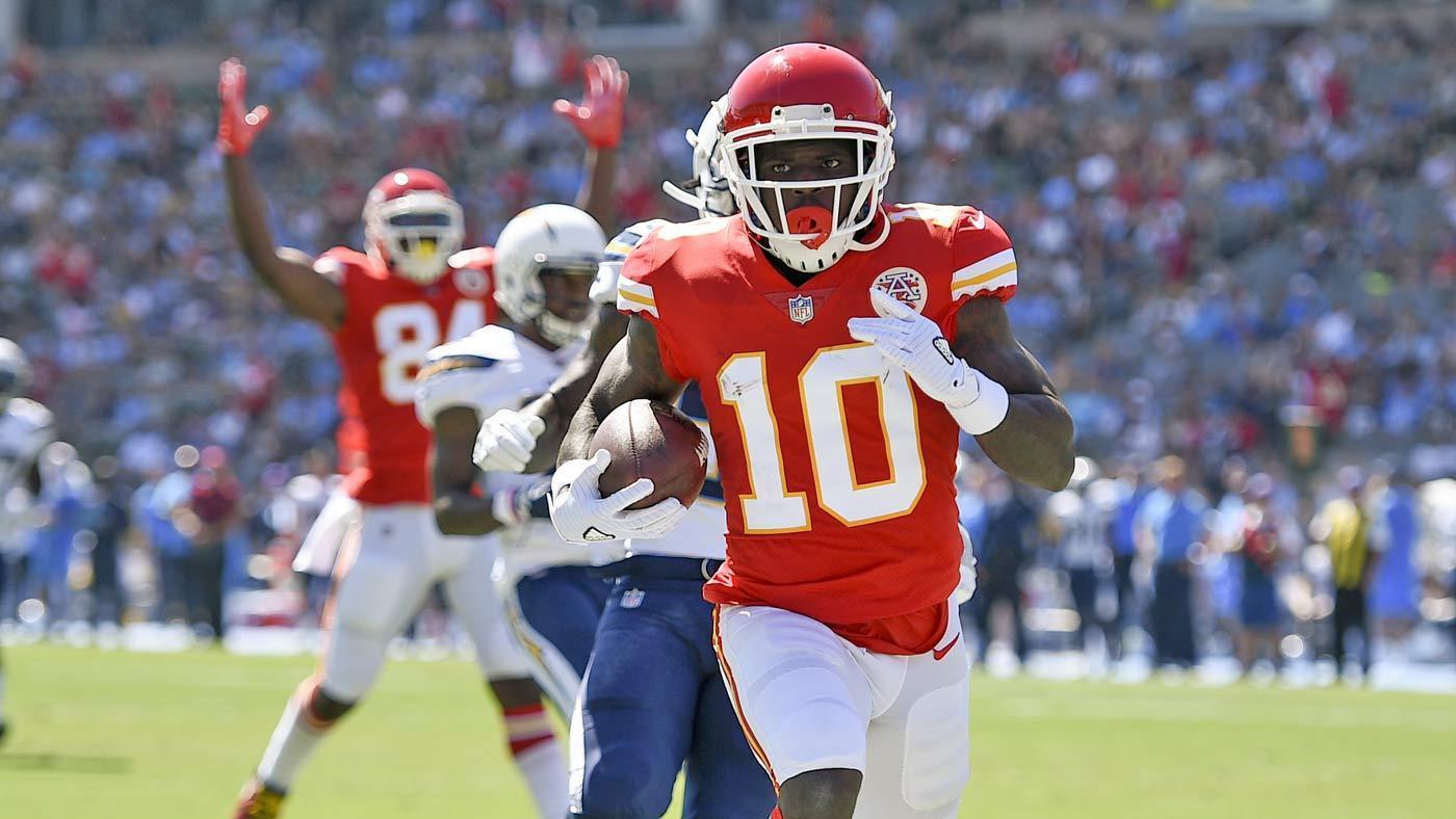 LIVE: Chiefs battle Chargers