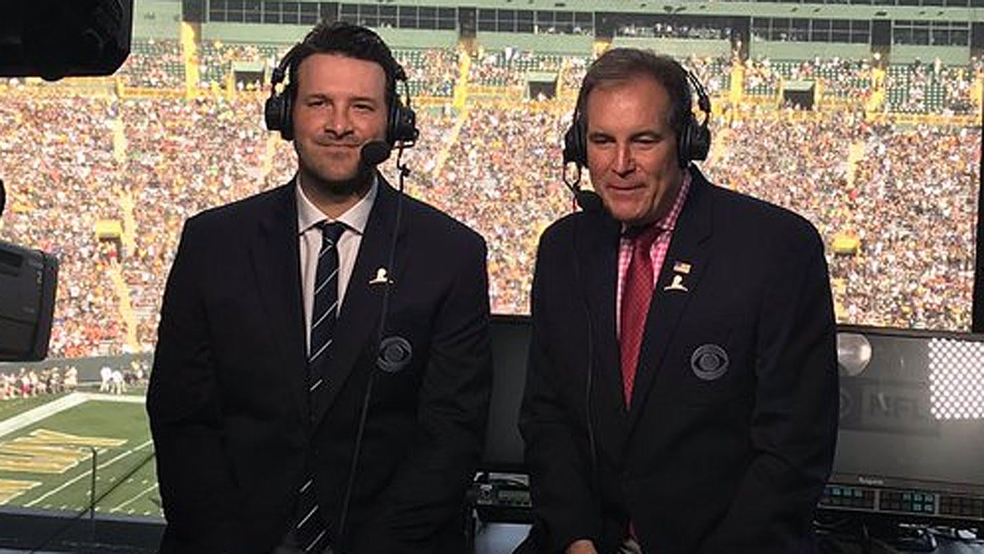 Tony Romo, NFL psychic, calls plays before they happen in Bengals vs. Packers