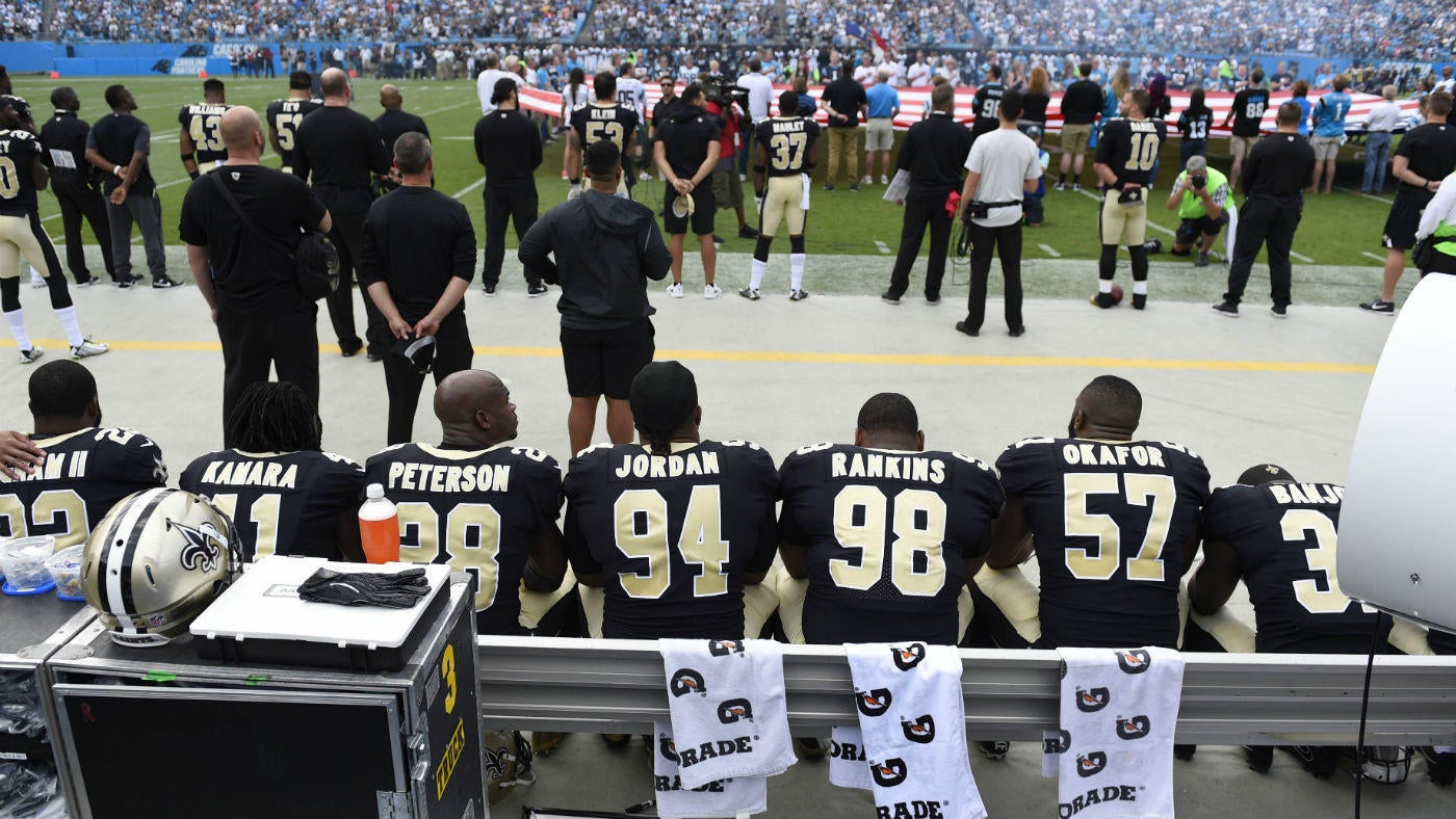 Louisiana lawmaker uses Saints' anthem protest to threaten to rescind state funds
