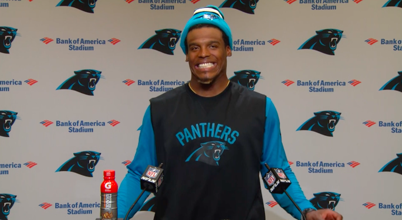 Cam Newton skips out on weekly press conference on same day female reporter returns