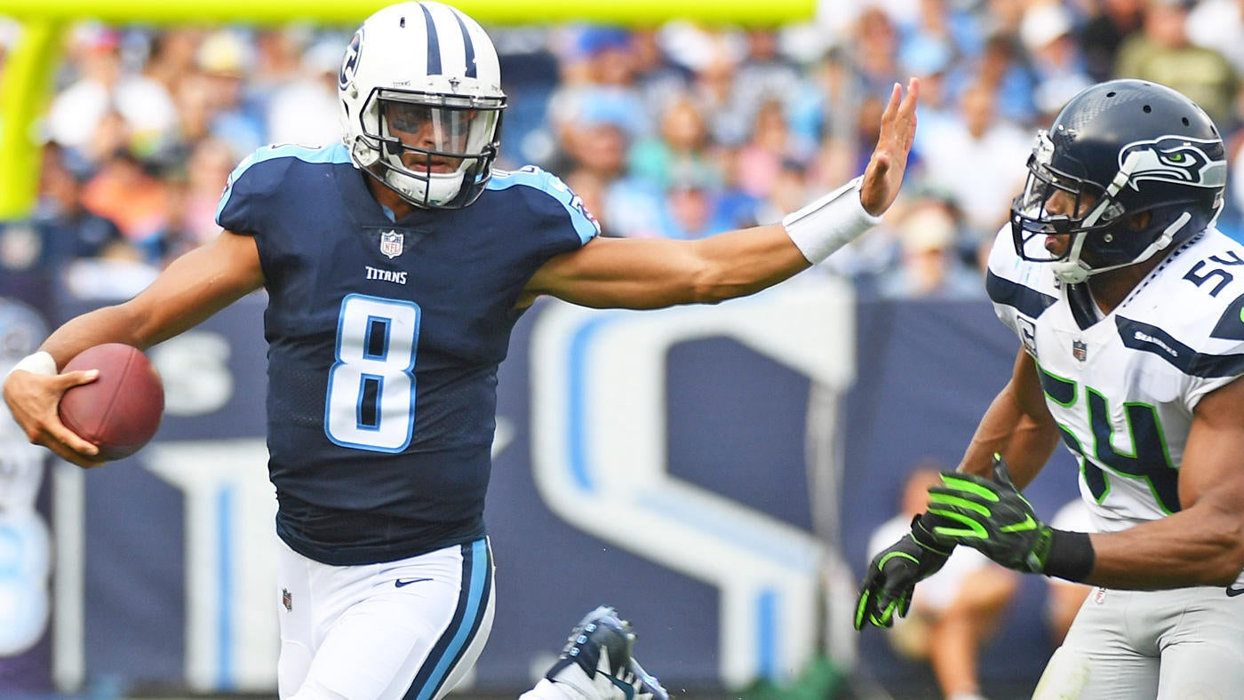 Colts vs. Titans: Marcus Mariota is active and starting on 'Monday Night Football'