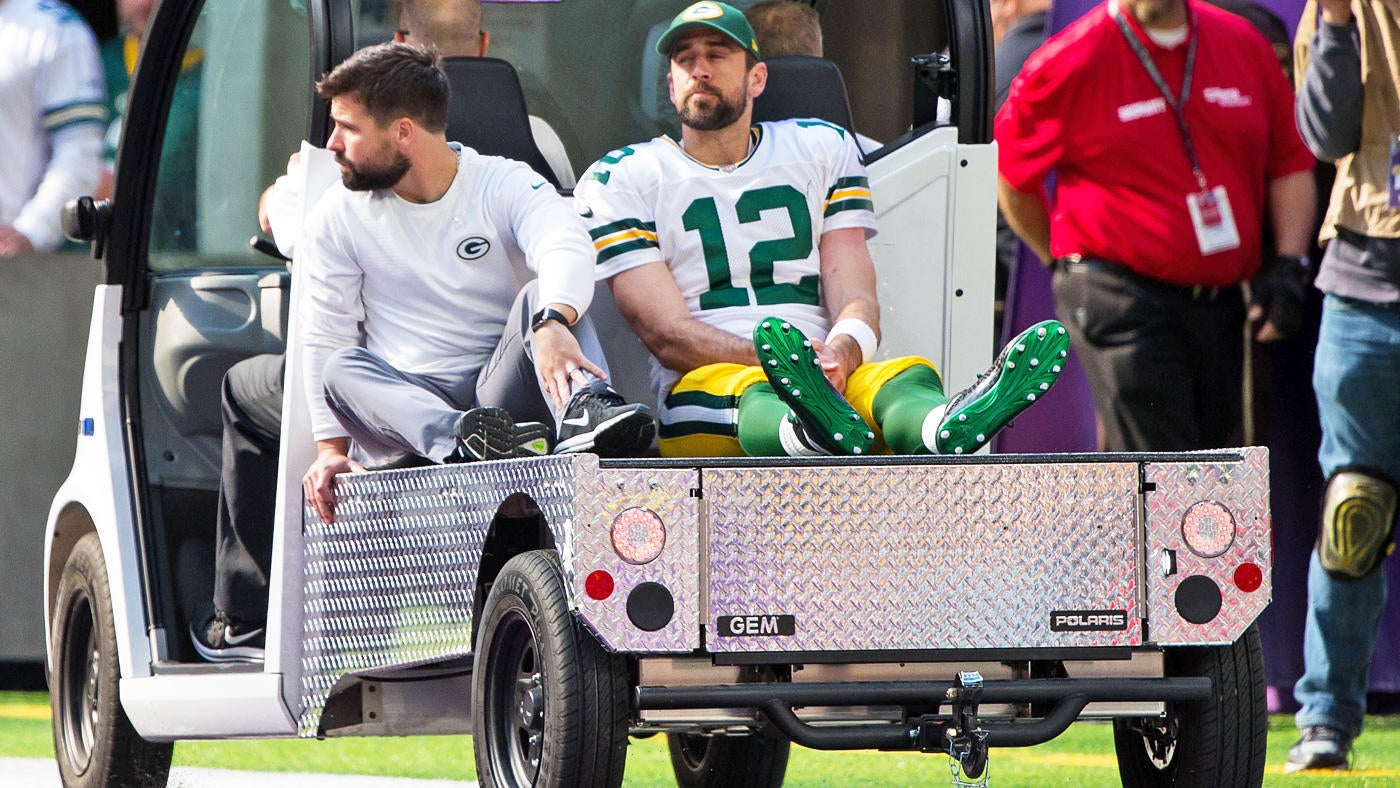 Packers place Aaron Rodgers on IR, but door isn't closed on a late-season return