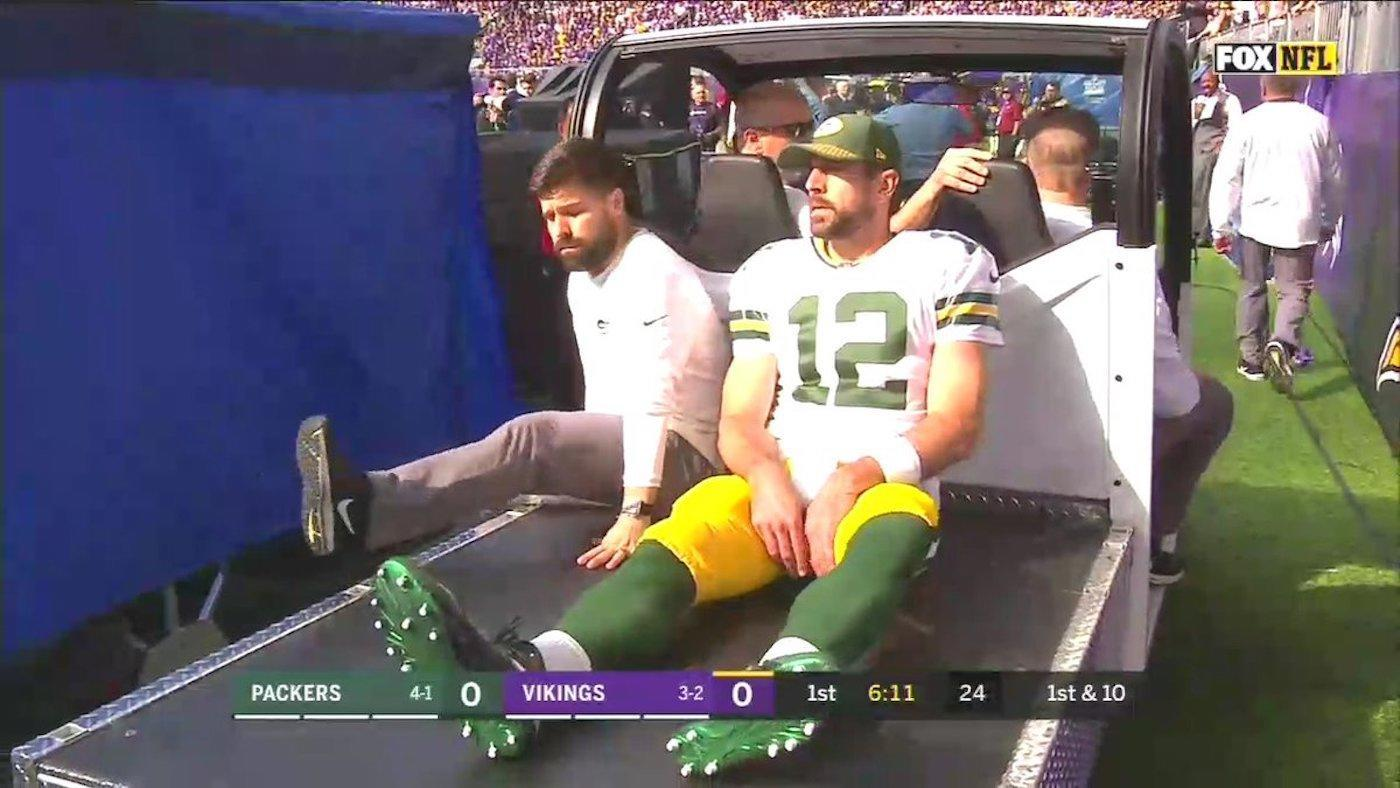 Aaron Rodgers set for surgery, and Mike McCarthy rips 'illegal' hit that led to injury