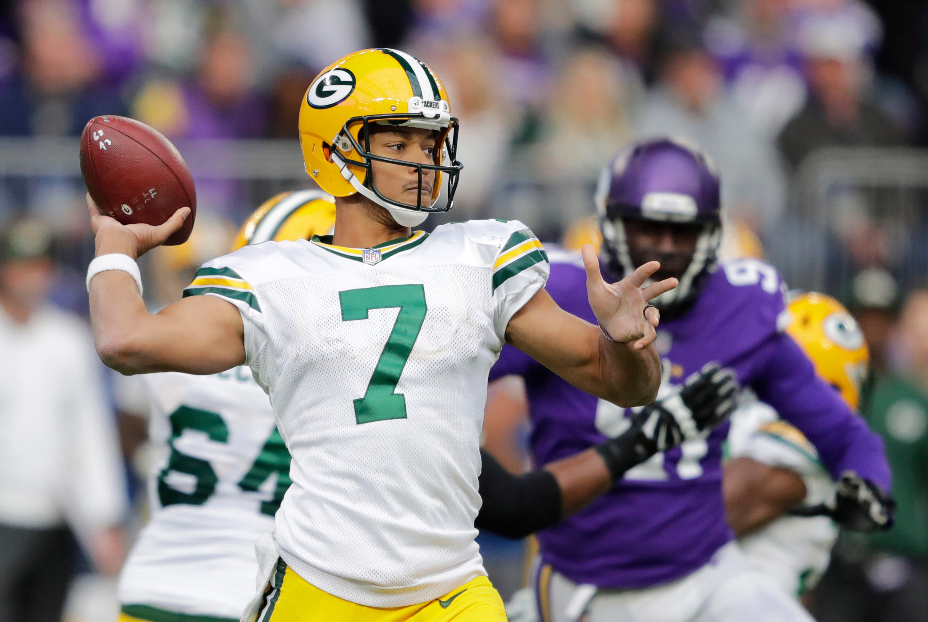 NFL Week 7 schedule: Brett Hundley gets first start, plus other things to watch