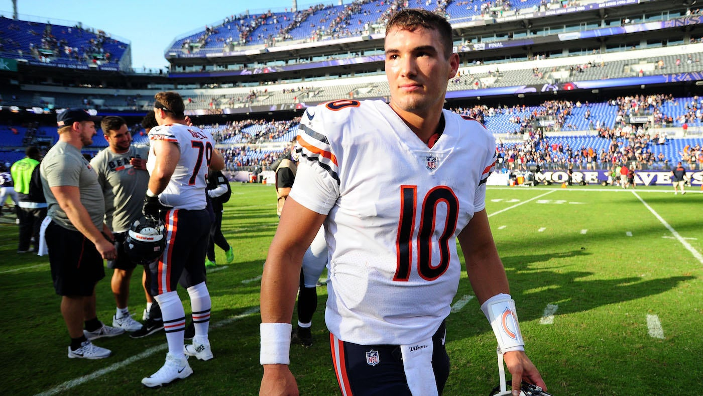 Bears Rookie Mitchell Trubisky Is Learning On The Fly And Getting Better Every Week