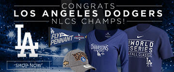 Dodgers NLCS Champs Gear
