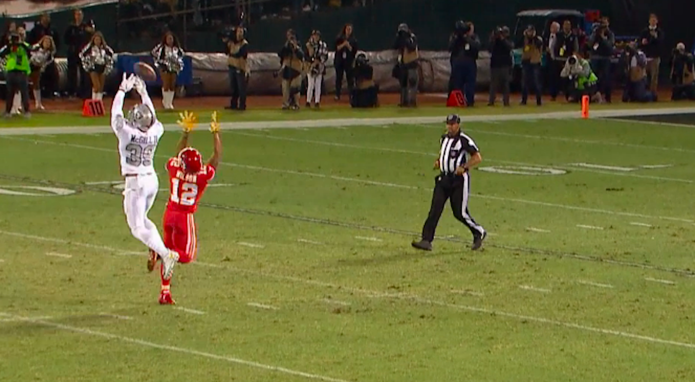 WATCH: Chiefs get improbable 63-yard touchdown on tipped pass in second half
