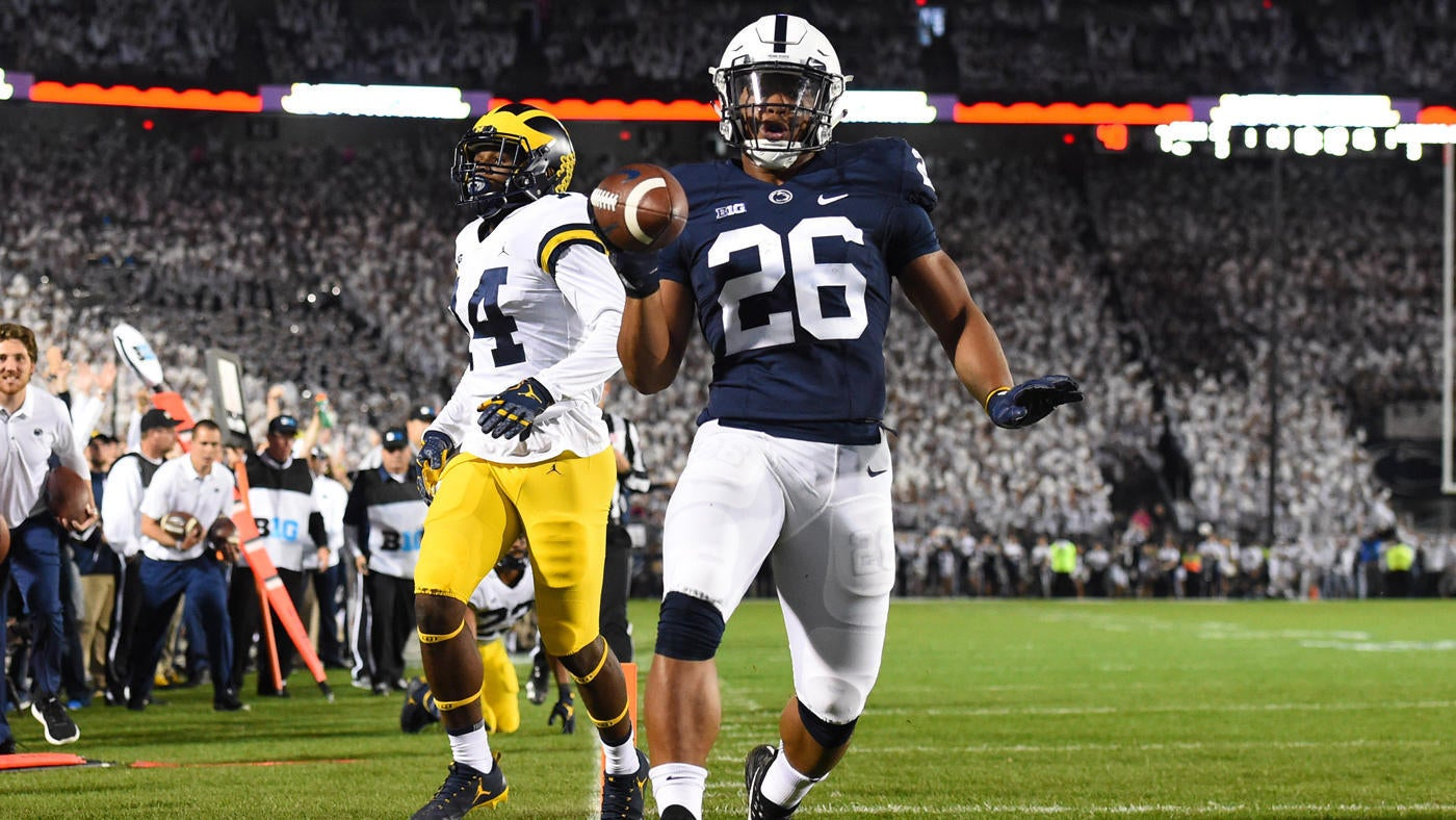 uk availability 9d926 b3987 Michigan at Penn State score, highlights: Saquon Barkley ...