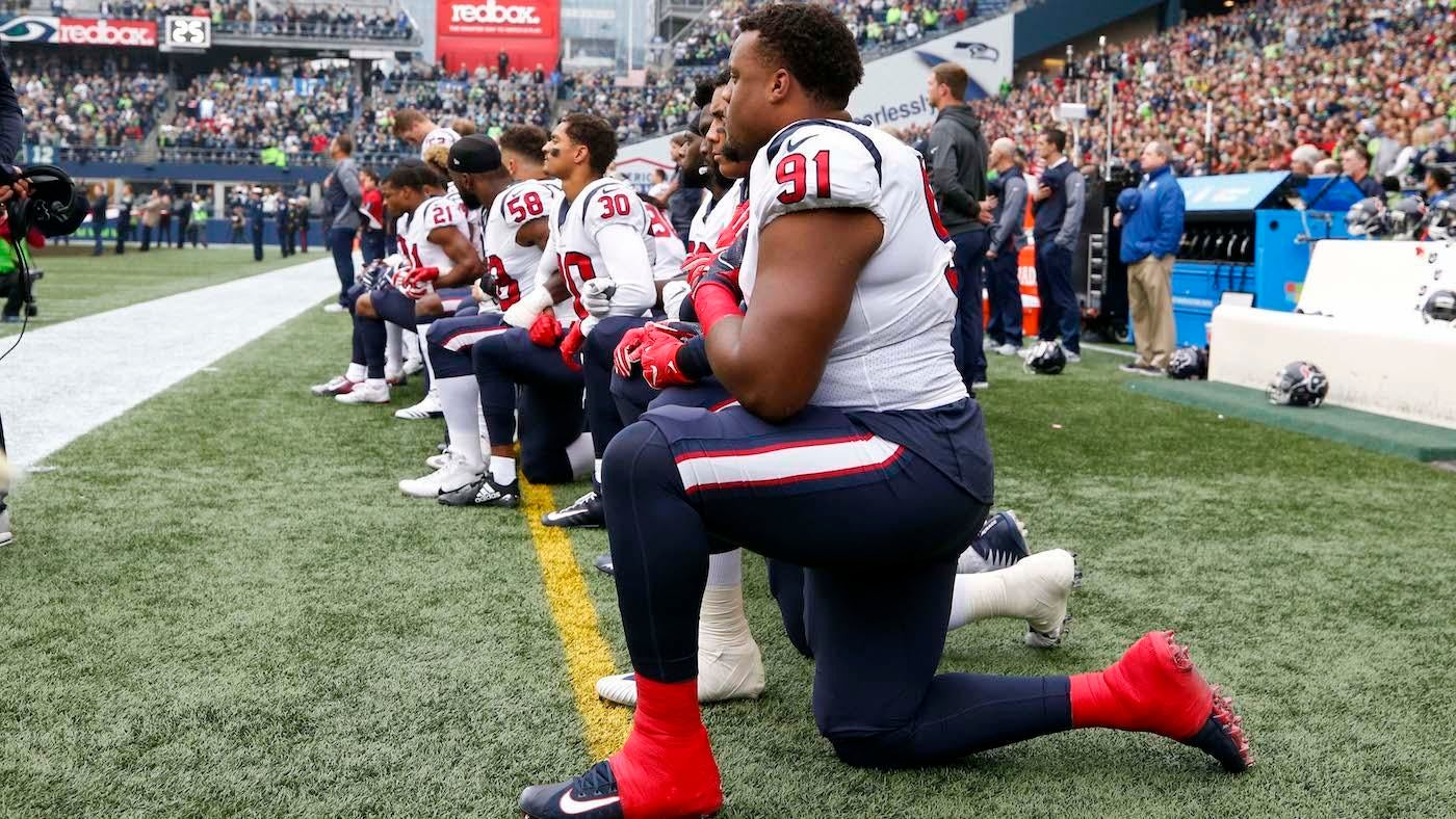 NFL's National Anthem Policy Will Punish Teams If Players Don't Stand On Sidelines
