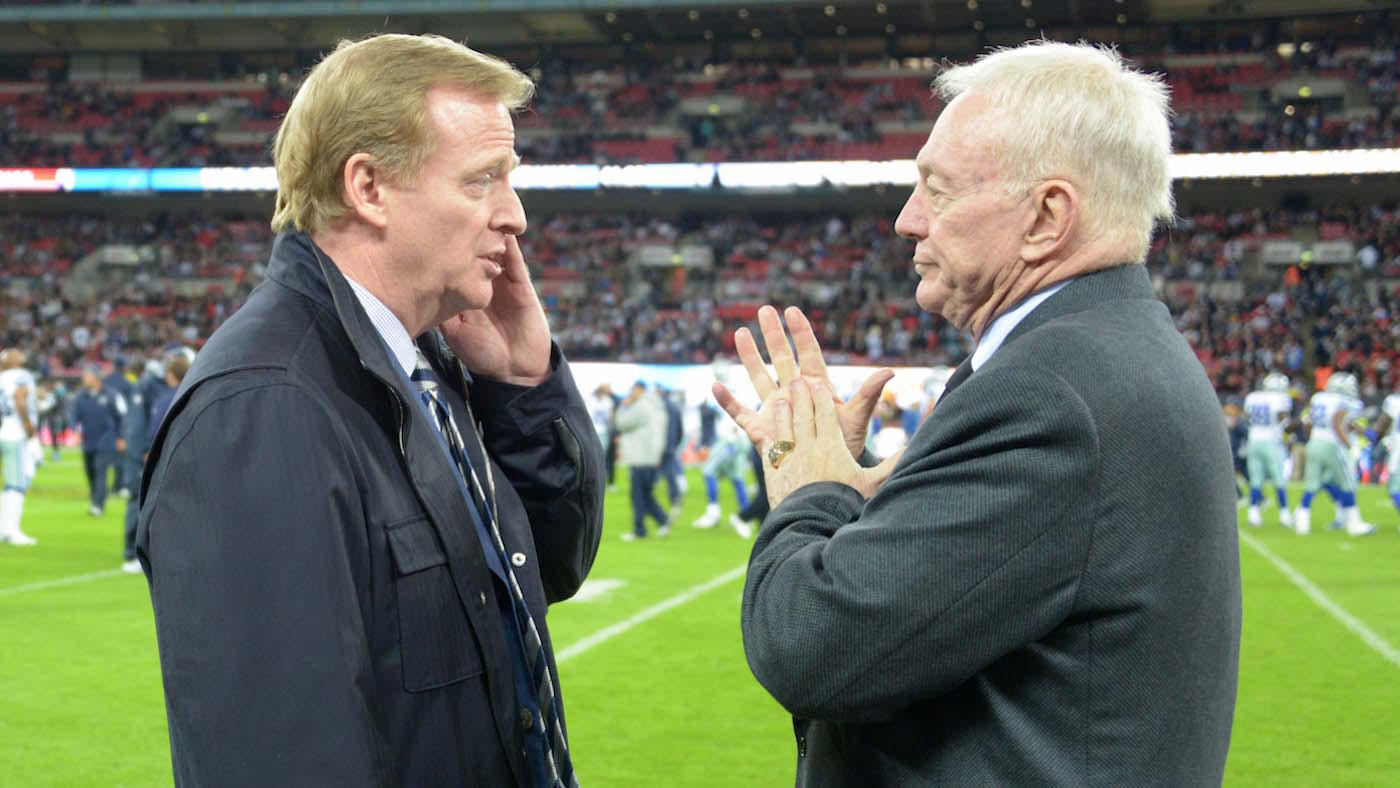 Jerry Jones Says He Won't Sue NFL Over Roger Goodell's Contract