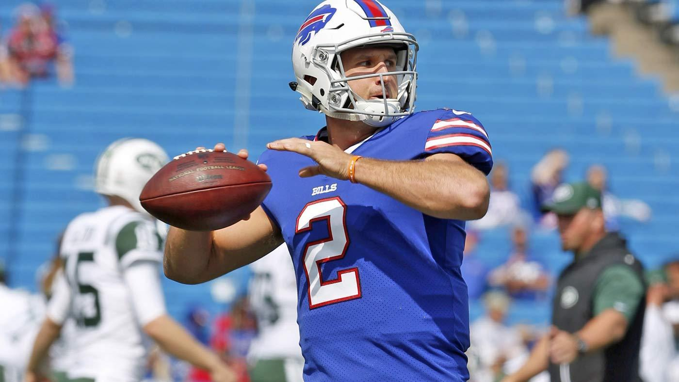 Tyrod Taylor Takes Over After Nathan Peterman Throws Five Picks In First Half
