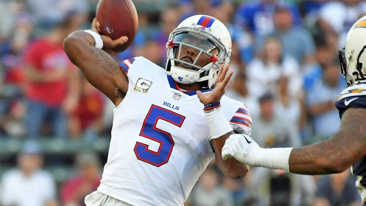 Here's Why The Bills Reportedly Aren't Planning To Cut Tyrod Taylor