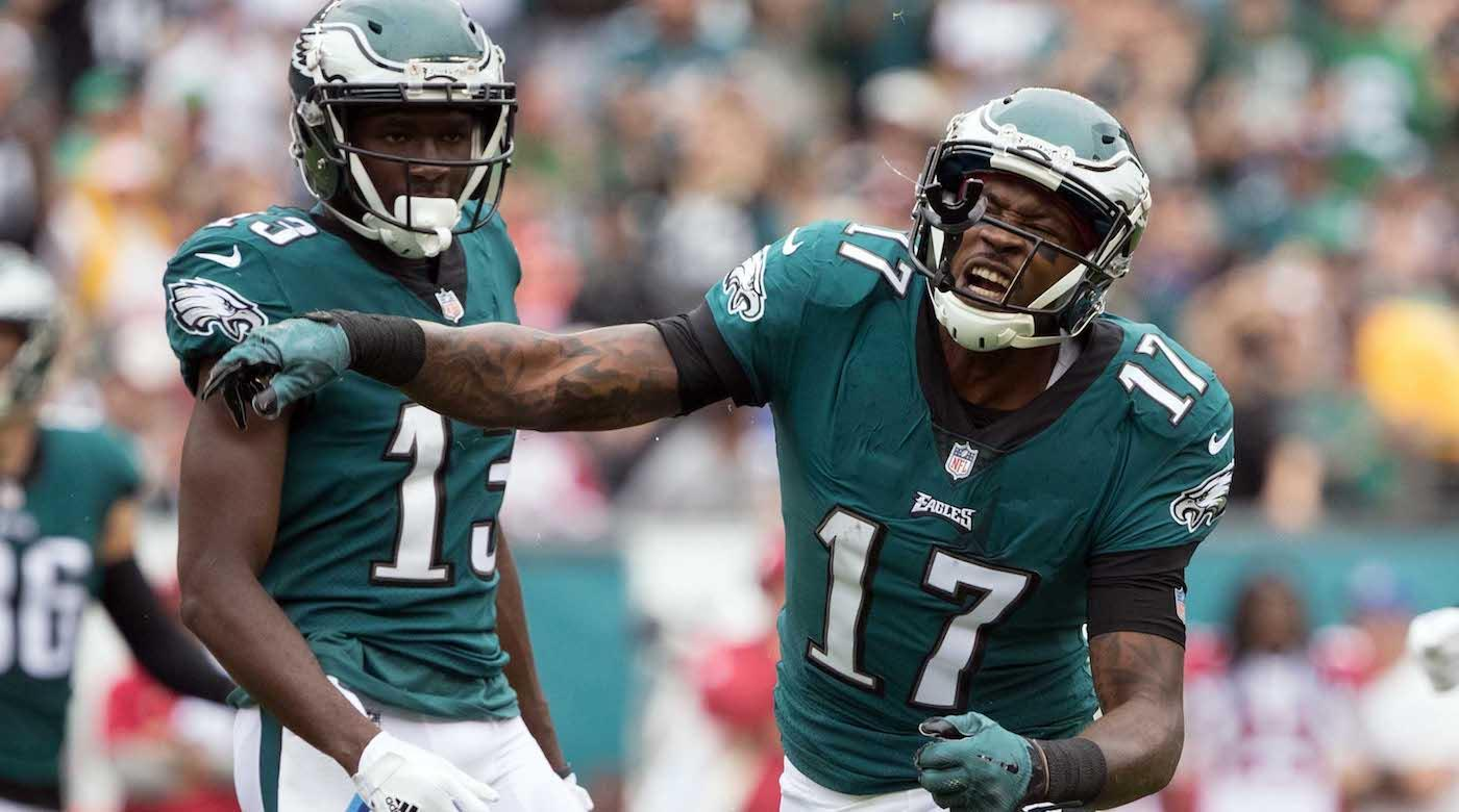 Alshon Jeffery Reportedly Played Through Torn Rotator Cuff, Could Miss 2018 Camp