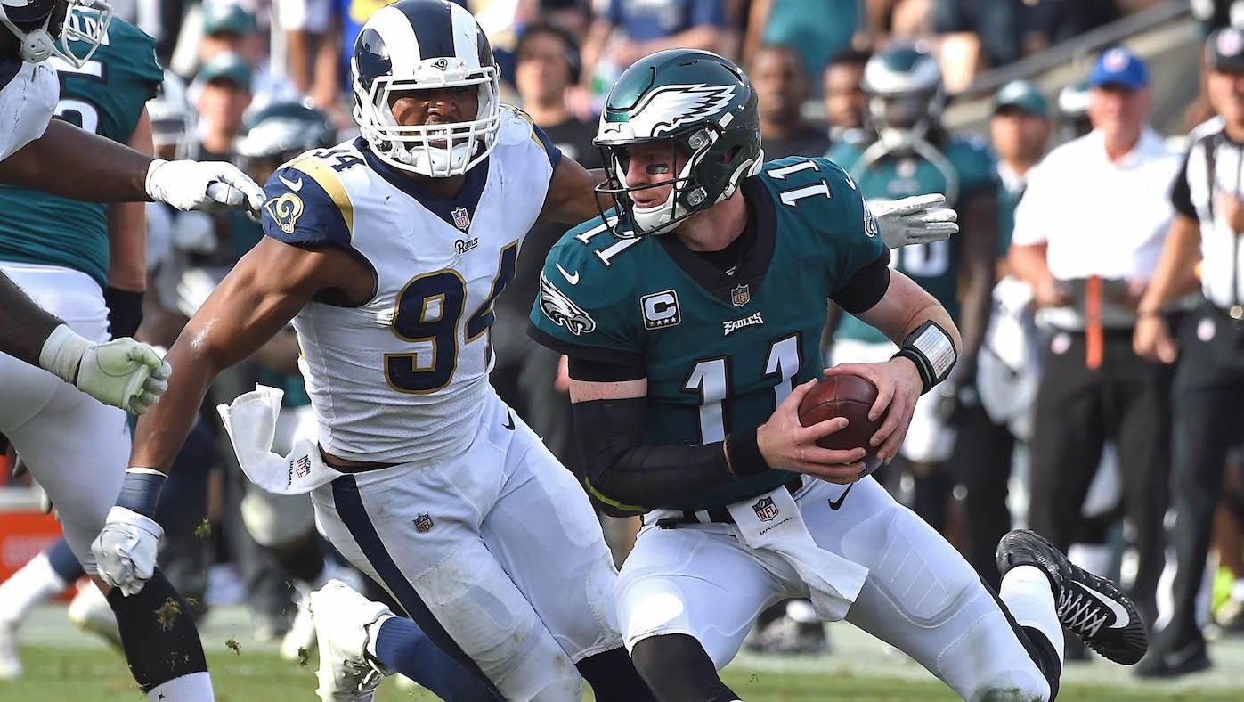 435e25bf2 Eagles vs. Rams score