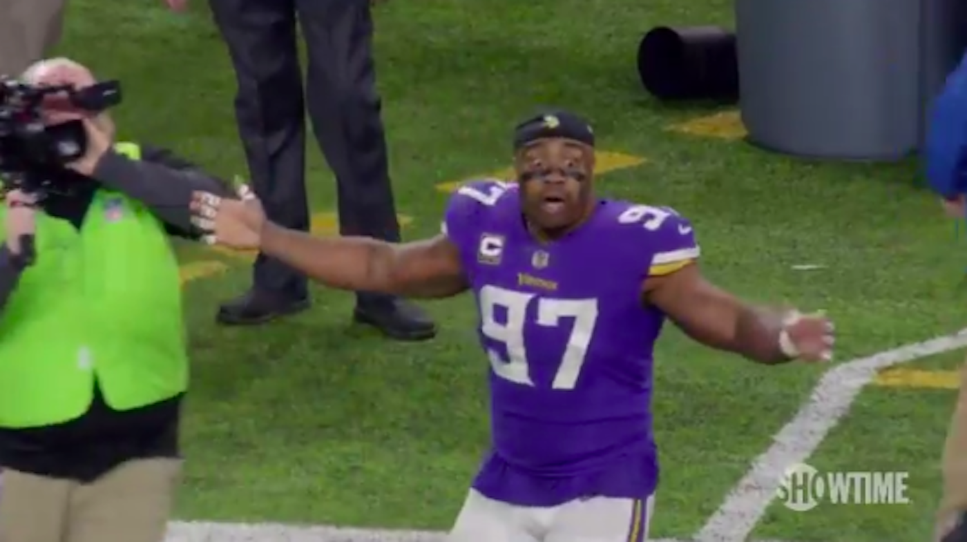 LOOK: This Vikings Player Might Have Had The Best Reaction To Team's Miracle Win