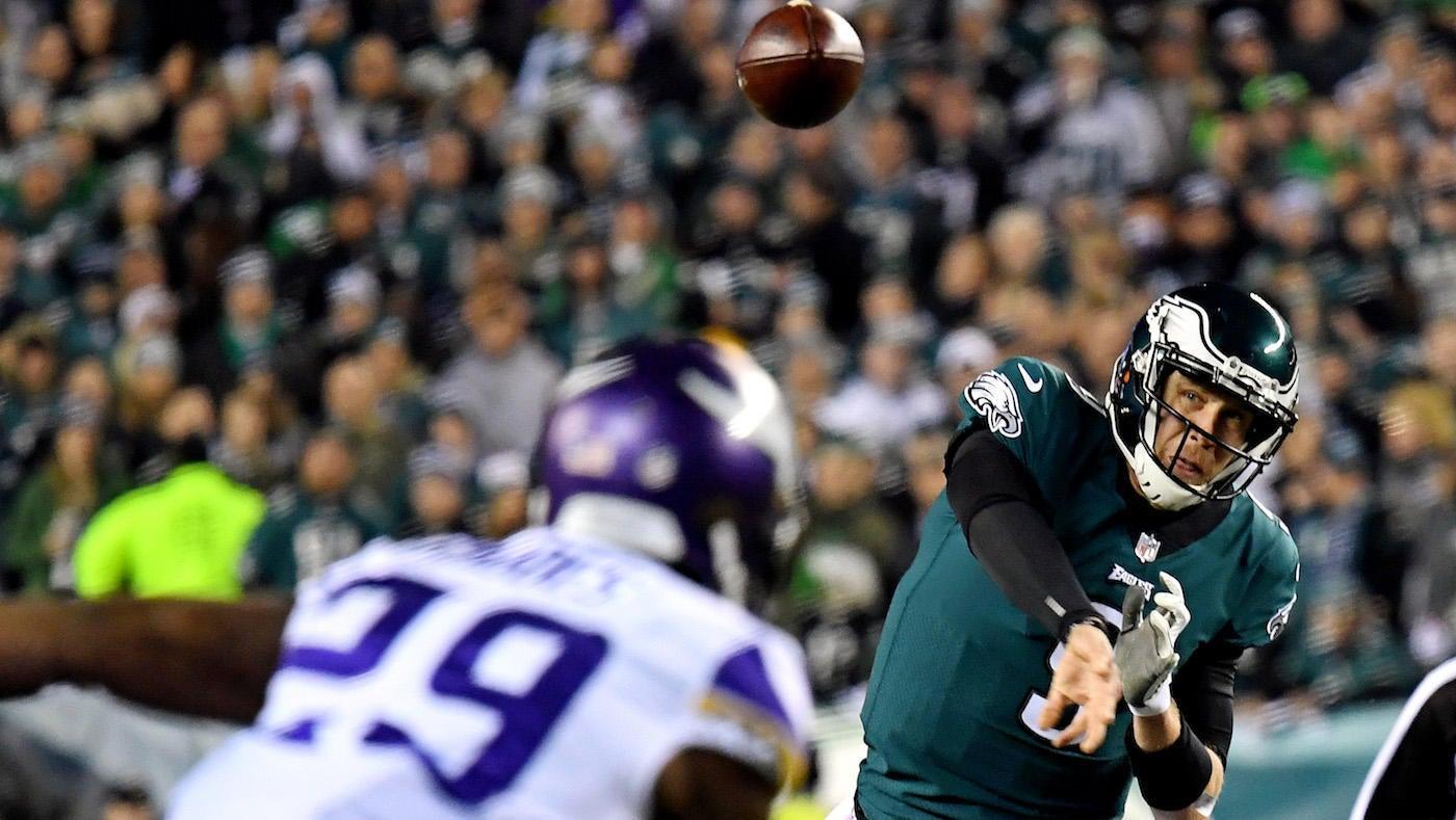 e8f0307b431 Vikings vs. Eagles score