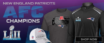 Patriots AFC Champs