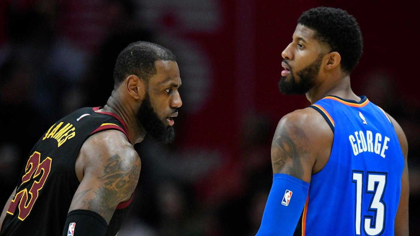 cdde273d7cb1 Google News - NBA Rumor LeBron James and Paul George - Overview
