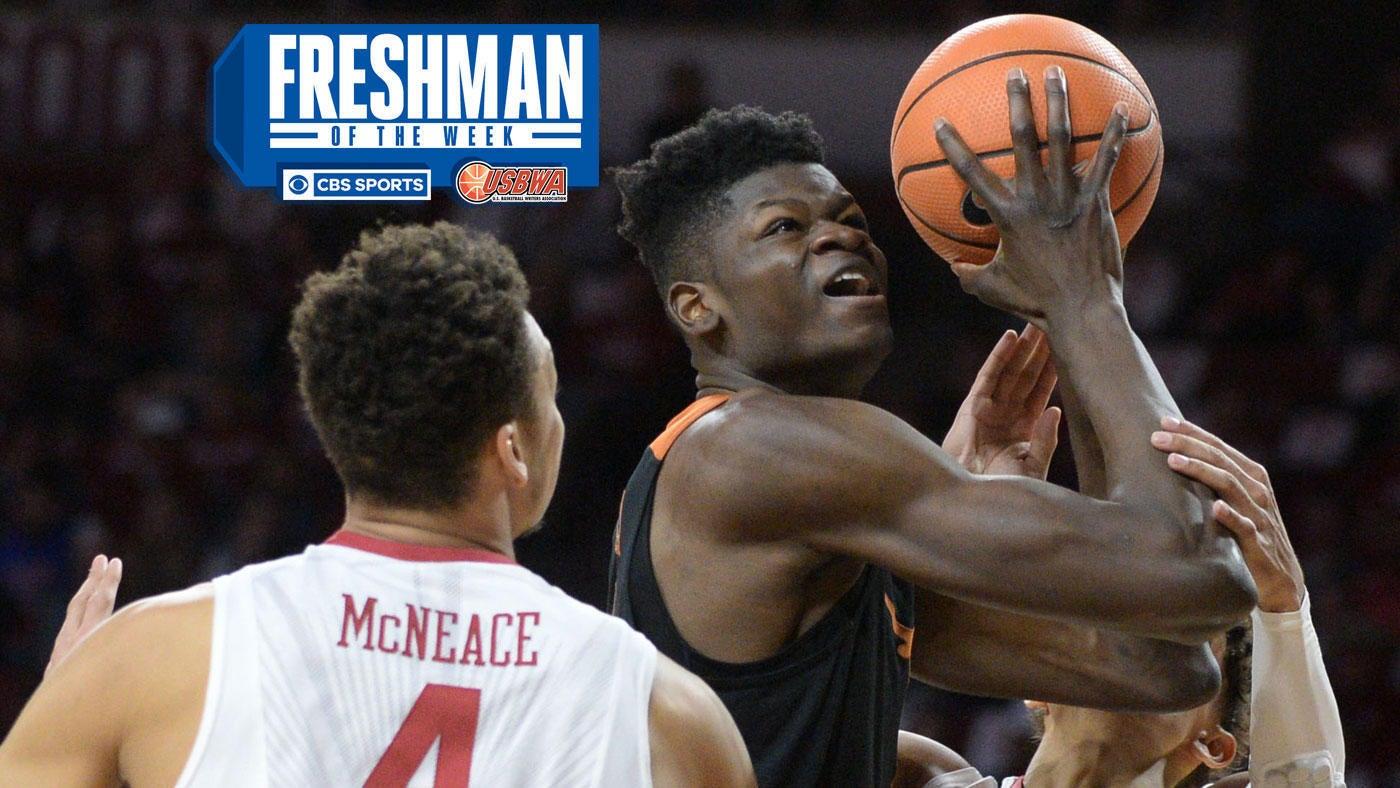 Freshman Of The Week: Texas' Mohamed Bamba Edges Out Arizona's Deandre Ayton