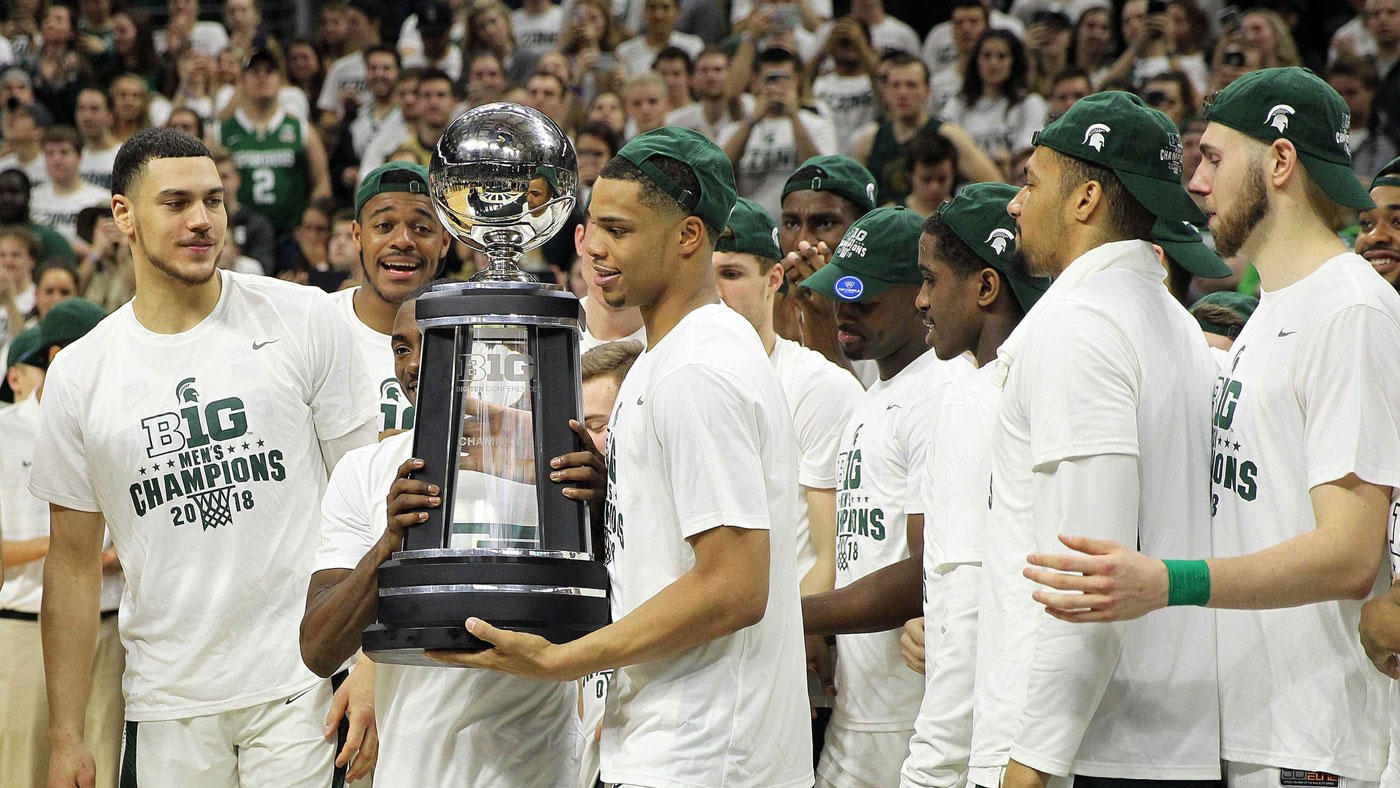 College Basketball Rankings: No. 2 Michigan State Clinches Share Of Big Ten Title