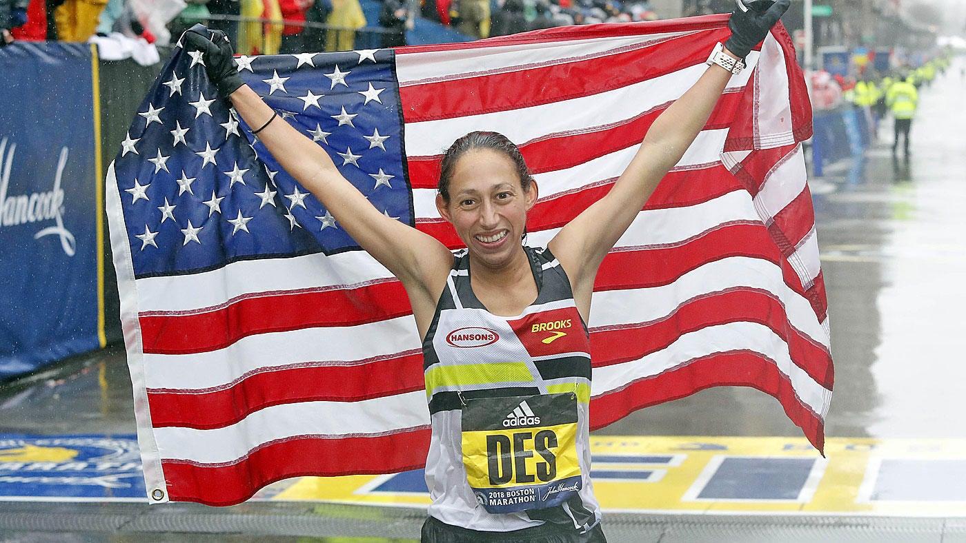 0c17fb42f3d Boston Marathon 2018  Desiree Linden makes history with win