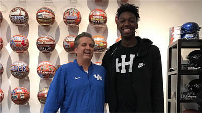 Calipari Vs. Penny: The Best Coach And Best Player In Memphis History Battle For The Nation's No. 1 Prospect