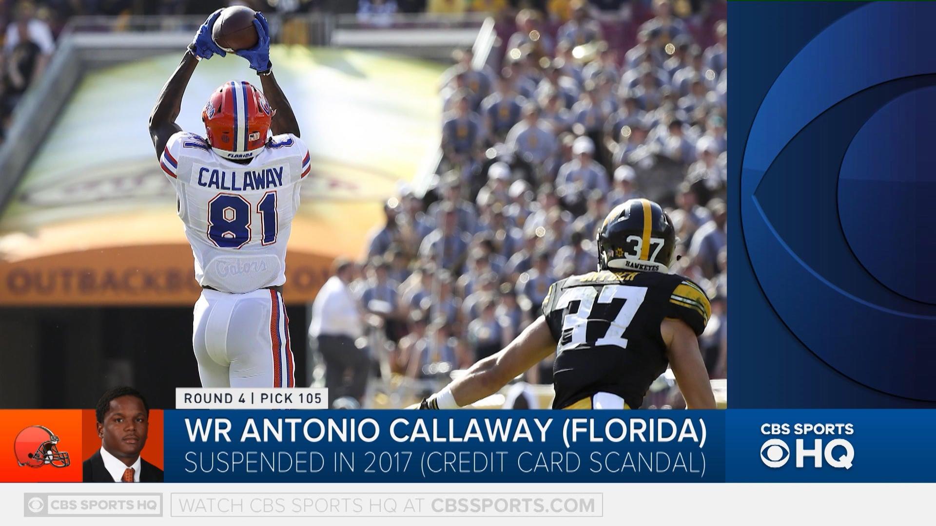 Antonio Callaway NFL Jersey