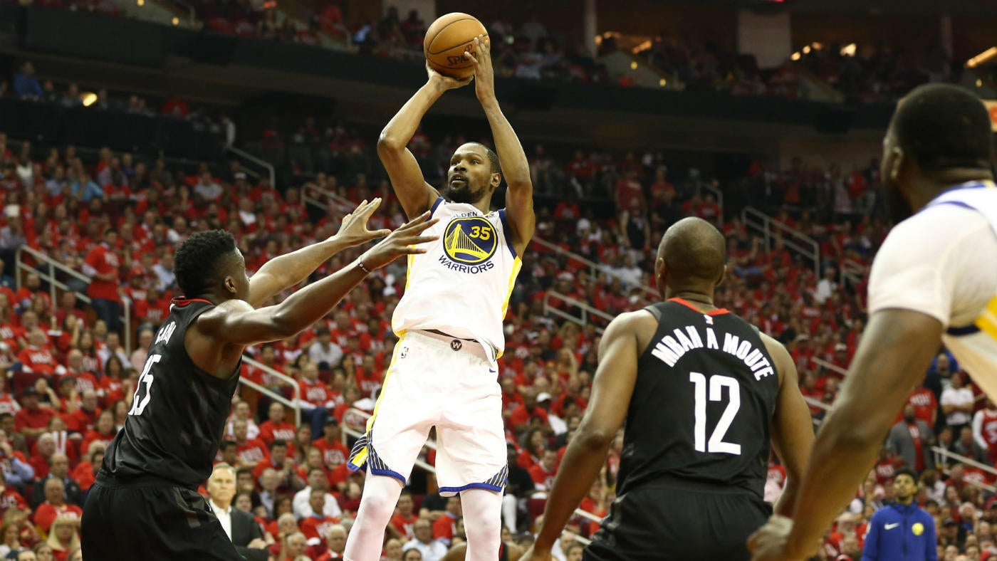 dfa036663ceb NBA playoffs 2018  Kevin Durant drops 37