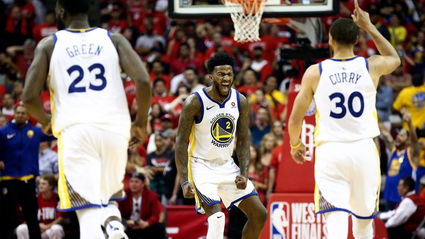 66b1b87b0 NBA Playoffs 2018  Warriors vs. Rockets Game 7 score